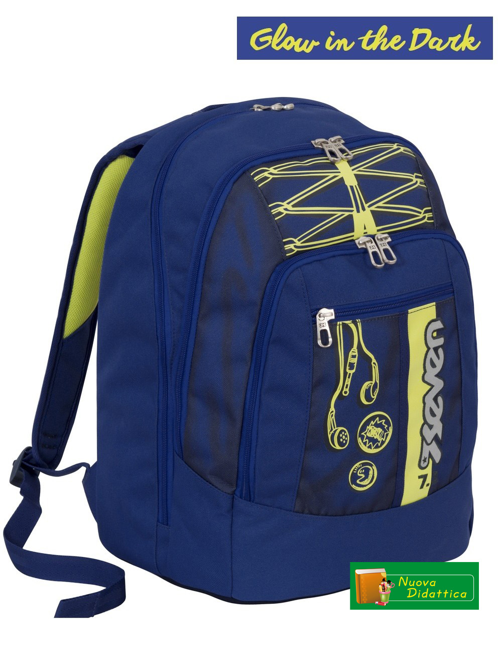 ZAINO SEVEN ADVANCED COLORFUL BOY BLU