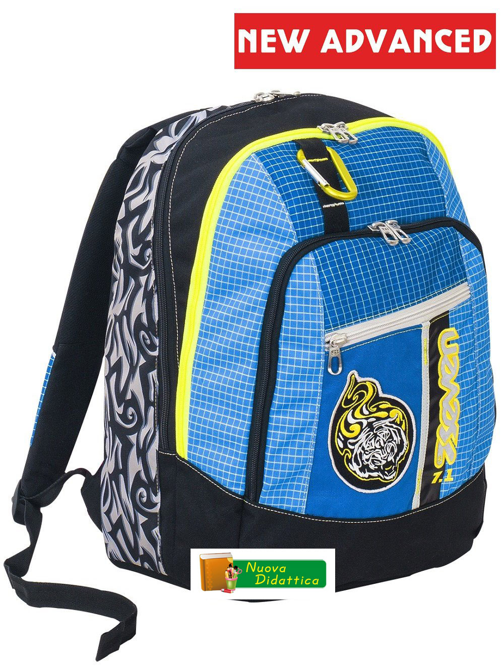 ZAINO SEVEN ADVANCED TRIBAL BOY BLU