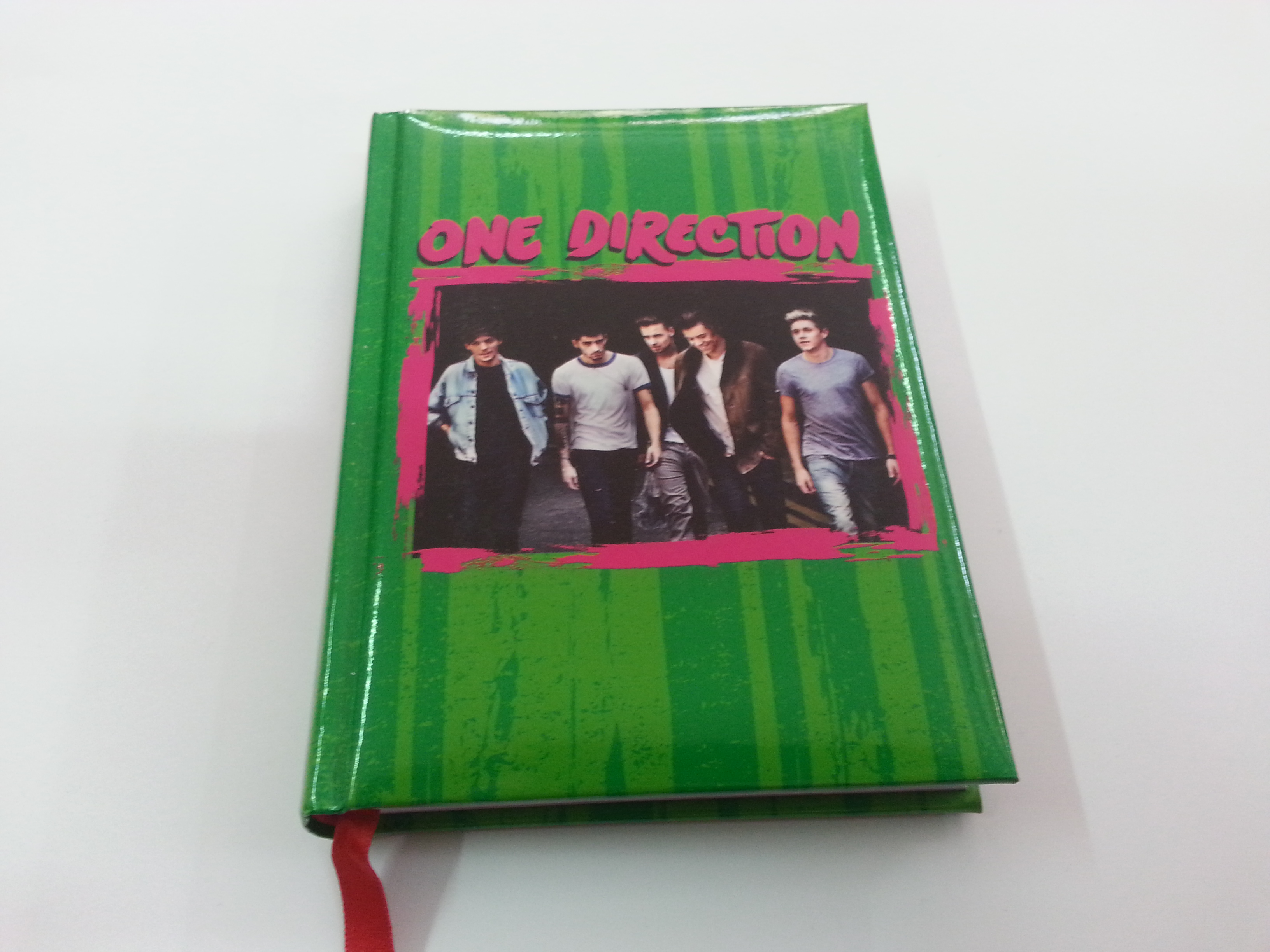 DIARIO ONE DIRECTION VERDE