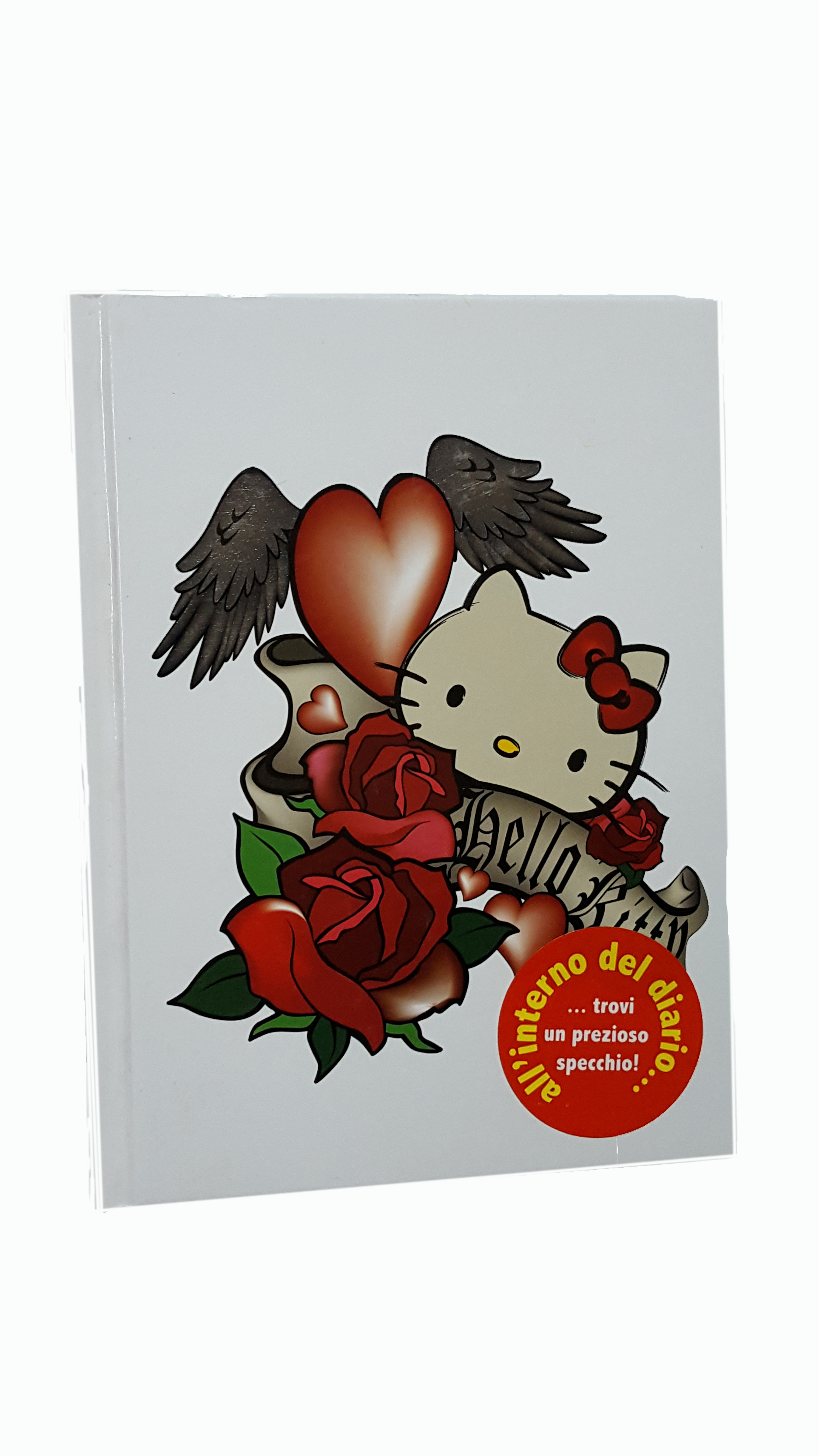 DIARIO hello kitty BIANCO
