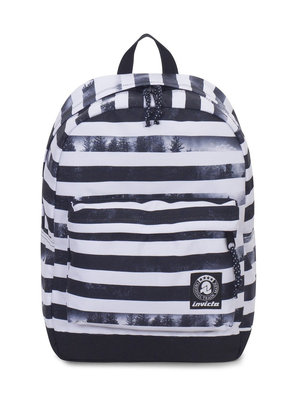 ZAINO INVICTA CARLSON FANTASY BLACK STRIPED FOREST
