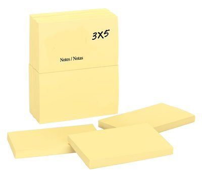 POST-IT mm 38x51 ff.100 GIALLO