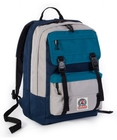 ZAINO INVICTA DUFFY PACK TRICOLOR BLUE-GRIGIO